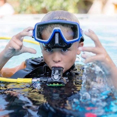 Stingray Divers - Kindertauchkurs, PADI Bubblemaker